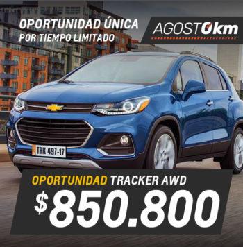 Chevrolet Tracker AWD